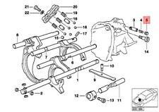 Genuine BMW M3 M5 Z1 Z3 Roadster Z4 CMS E12 E21 E23 E24 Blind plug 23317545771