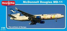 Mikromir 144-015 Mcdonnell Douglas Md-11 European Air Scale Model Kit 1/144 New
