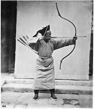 Photo. 1870s. Northern China.  Archer