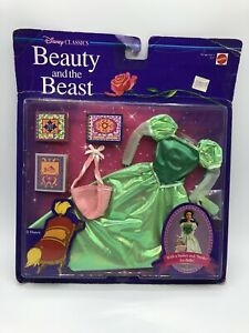Disney Classics Beauty and the Beast Belle Library Fashion Outfit Mattel 3153