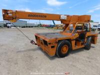 2006 Broderson IC803G 18,000 Carry Deck Crane 37'5'' Boom Diesel bidadoo -Repair