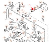 Audi A4 B6 Rückschlagventil Ventil Schwarz 059905291A Neu Original
