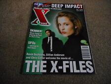 #23 Xpose science fiction movie tv magazine Xfiles