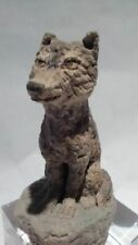 "Michael Lee Ford Outsider Prison art Sculpture ""Wolf"""