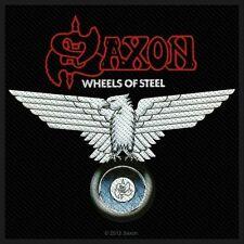 SAXON  - Wheels of steel Patch Aufnäher 10x9cm