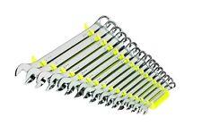 Ernst 5062HV Wrench Organizer Tray Holds 16 Wrench Hi-Viz Yellow Forward Facing