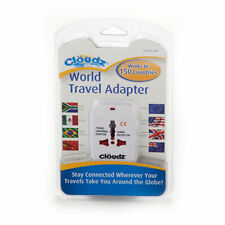 Cloudz World Travel Adapter Us/Au/Eu/Uk