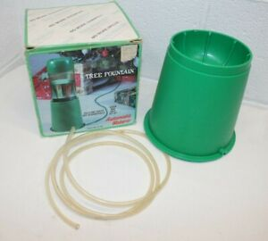 Vintage Molor Automatic Christmas Tree Waterer TF-103 Fountain, Uses 2 L bottle!