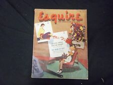 1951 JULY ESQUIRE MAGAZINE - GREAT COVER, PHOTOS AND ADS - ST 2687