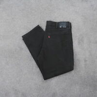 Levi's 541 Athletic Taper Jeans Men's 38x30 Black Stretch Denim