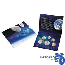 2019 UNC 50th Anniversary of the moon landing WMF 6 coin set