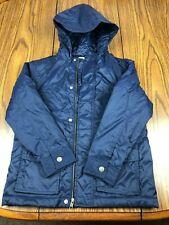 GYMBOREE Boys Youth Size M 7-8 Navy Blue Nylon & Polyester Puffer Jacket Medium