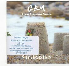 (EZ554) G.E.M., Sandcastles - 2014 DJ CD