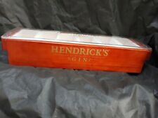 Hendrick's Gin 2019 Promotional Wood Condiment Caddy 6 sections