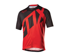 Fox Cycling Men's Livewire Ss Jersey [Red] Size Medium