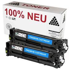 2x Toner Patrone Kartusche für HP Laserjet Pro 200 Color M251n M251nw Schwarz