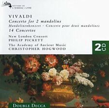 Vivaldi - Concerti/Pickett/Hogwood Of2 (NEW CD)
