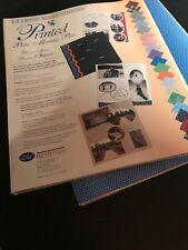 Creative Memories Printed Photo Mounting Paper