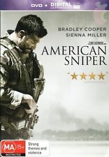AMERICAN SNIPER-Bradley Cooper, Sienna Miller-Region 4-New AND Sealed