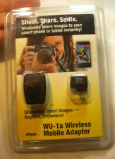 Nikon WU-1a wireless mobile adapter new