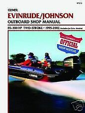 B7372 Johnson Evinrude 1995-2002 85-300hp Outboard Service Repair Shop Manual