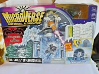 1997 Vintage Kenner Batman Microverse Batman Mr Freeze Observatory Playset Rare