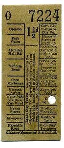 Leeds City Trams ticket
