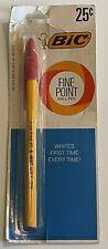 Nos New Sealed Vintage Bic Red Ink Ball Pen Fine Point