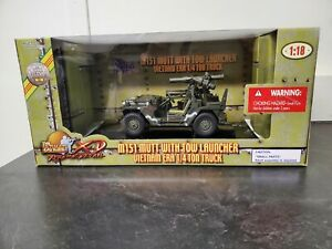 Ultimate Soldier 1:18 M151 Mutt with Tow Launcher Vietnam Era  1/4 ton truck-NIB