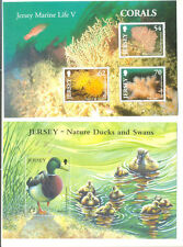 Mint Never Hinged/MNH Birds Jersey Regional Stamp Issues