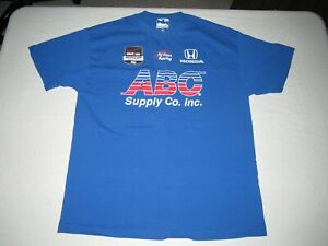 JACK HAWKSWORTH #41 MEN'S ABC INDY CAR AJ FOYT RACING SHIRT SIZE XL