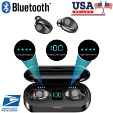 Air Wireless Headphones Bluetooth 5.0 Tws In-Ear EarBuds Pods with Android & Ios