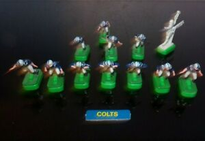 Vintage Tudor 60's 70's BALTIMORE COLTS  Electric Football Men Players w/basis
