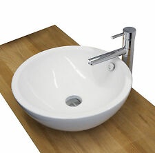 Burgtal Design Keramik Aufsatz Waschbecken Waschschale Handwaschbecken BKW-01!