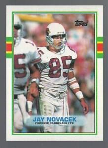 JAY NOVACEK 1989 Topps RC #282 Rookie Card Phoenix Cardinals Dallas Cowboys 89