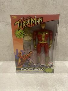 Jingle All The Way TURBO MAN ACTION FIGURE by FUNKO Brand New & Boxed