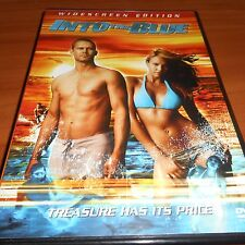 Into the Blue (DVD, 2005, Widescreen) Paul Walker, Jessica Alba Used
