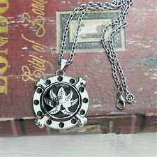 "One Piece Thousand Sunny 2"" Metal Pendant Necklace Chain Loose Pack Cosplay"