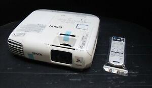 Epson EB-X27 2700 Lumens Contrast 10,000:1 XGA HDMI 3LCD Projector 501 Hours
