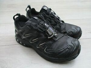 Salomon XA Pro 3D Gore-tex Trail Running Walking Waterproof Shoes GTX 8 UK Black