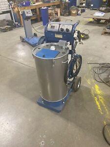 Nordson Sure Coat Manual Powder Coating System w/ 50lb Hopper - Refurbished