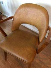 4 chaises rétro Ben en bois courbé à manger chaises de bureau Mid Century Retro