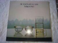 Geffen GHS 2004      ~~ Yoko Ono ~~   Season of Glass 1981 PROMO COPY WB EX/EX