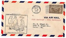 UU508 1929 Canada Edmonton Philadelphia USA Cover {samwells-covers}