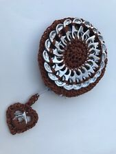 coin purse handmade soda pop top can tab recycle brown little bag good gift(2)
