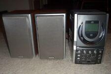 TEAC EX-M5 AM/FM, MP3, IPOD, CD Bookshelf Stereo 3-pc System