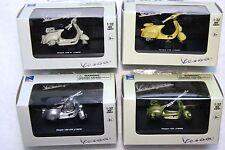 Vespa 4 Stück Roller Modelle New Ray Lampe unten GS 3 150 VNB VNB 125 Hofmann