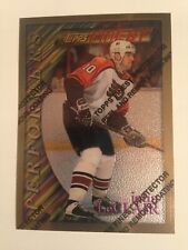 1995-96 TOPPS FINEST JOHN LECLAIR GOLD RARE CARD #179 + BONUS