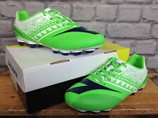 DIADORA JR UNISEX UK 5.5 GREEN WHITE DD NA 3 FOOTBALL SHOES RRP £45