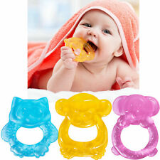BABY TEEHER Water Filled Teething Ring BPA Free Durable Soother Sore Gums 👶🦷